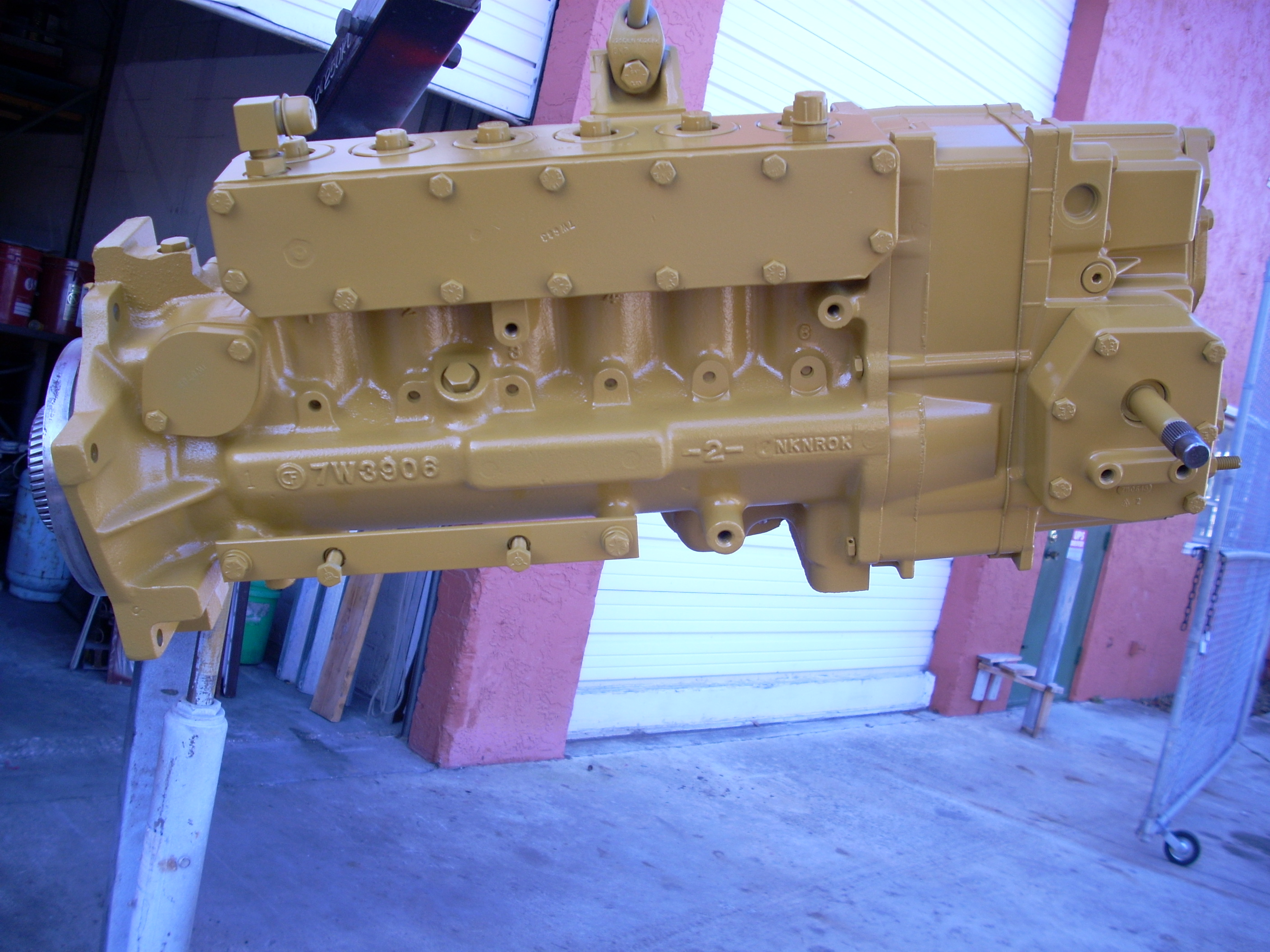 3406 cat injection pump removal